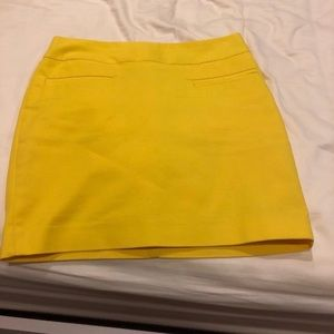 Calvin Klein yellow skirt
